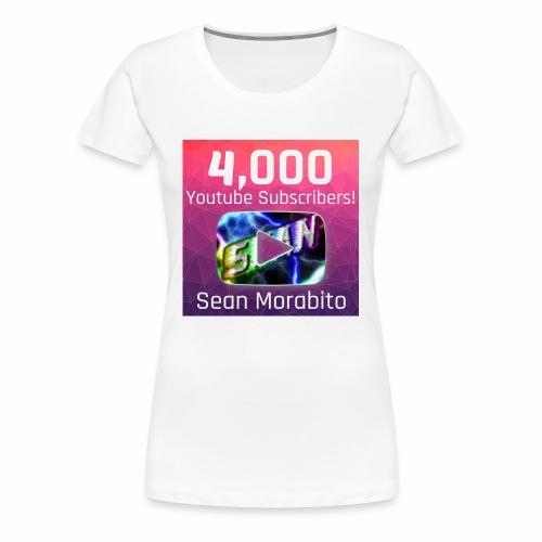 4000 Subs edited - Women's Premium T-Shirt
