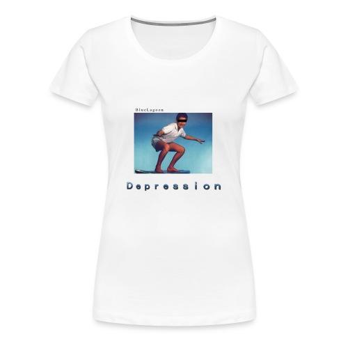 Depression album merchandise - Women's Premium T-Shirt