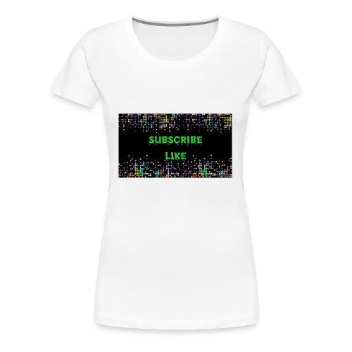 Photo 1516737192484 - Women's Premium T-Shirt