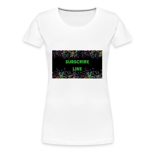 Photo 1516737192484 - Women's Premium T-Shirt
