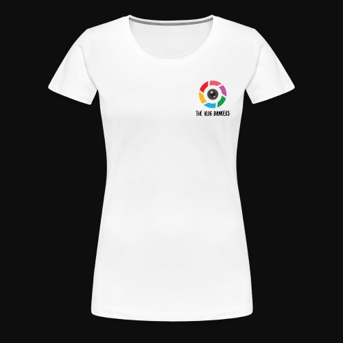 Vlog Dankers Camera Design - Women's Premium T-Shirt