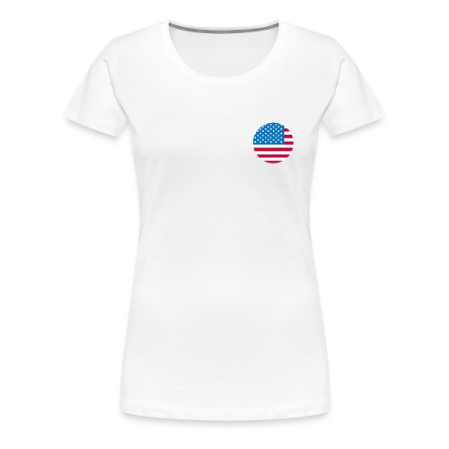Independence day USA flag Fourth Of July T-Shirts - Women's Premium T-Shirt