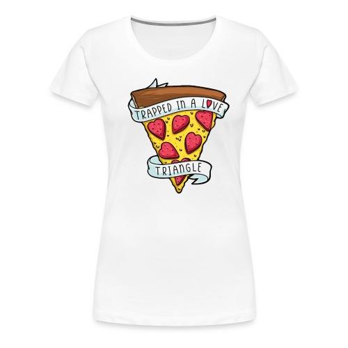 pizza valentine - Women's Premium T-Shirt