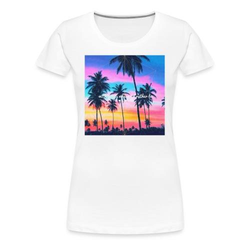 Where I'd rather be shirt. - Women's Premium T-Shirt