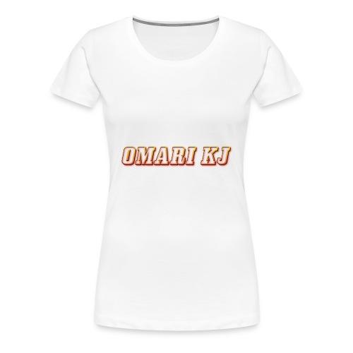 Omari kj - Women's Premium T-Shirt