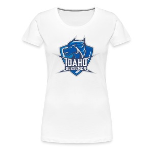 Idaho Horsemen Shield - Women's Premium T-Shirt