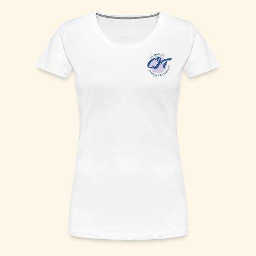 CIT logo vector file - Women's Premium T-Shirt