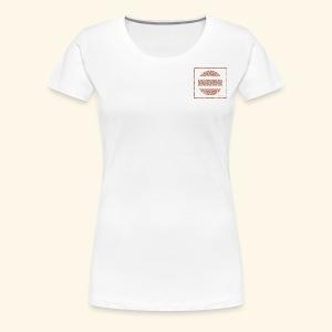 Broken floral circle - Women's Premium T-Shirt