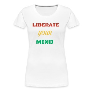 Liberate your mind clothing - Women's Premium T-Shirt