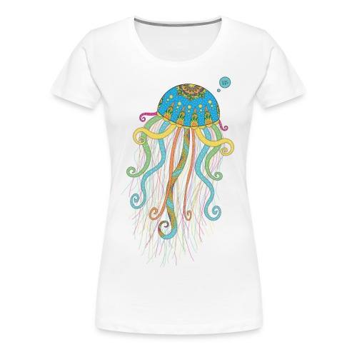 Vis - Jellyfish - Women's Premium T-Shirt