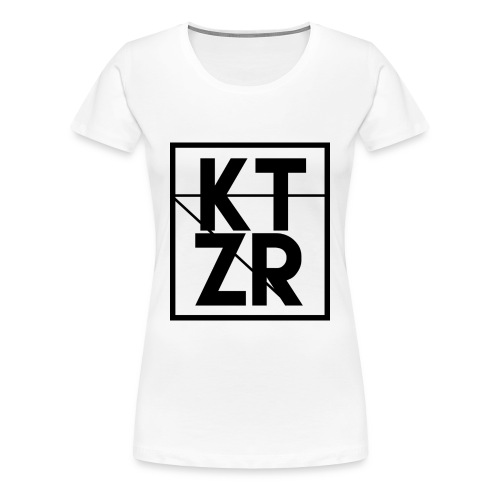 KTZR Logo - Women's Premium T-Shirt