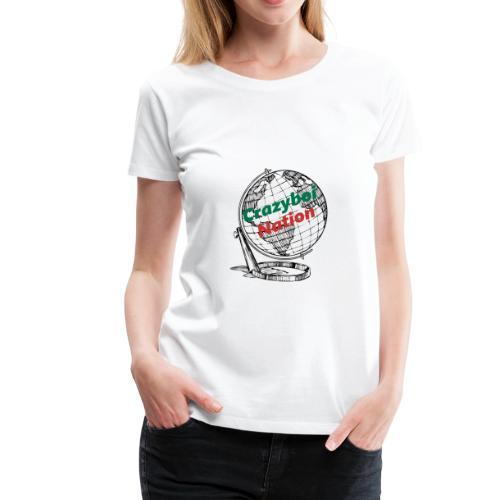 CrazyboiNation2 - Women's Premium T-Shirt