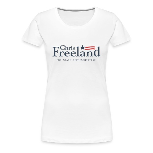 FREELAND FOR STATE REP - Women's Premium T-Shirt