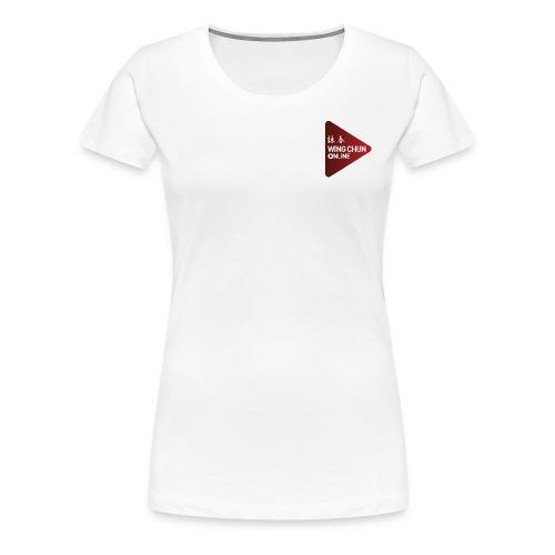 Wing Chun Online Logo - Women's Premium T-Shirt
