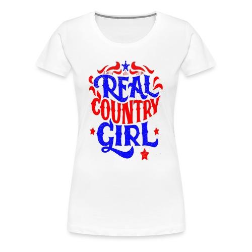 Real Country Girls - Women's Premium T-Shirt