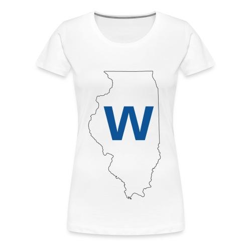 Cubs WIN! - Women's Premium T-Shirt
