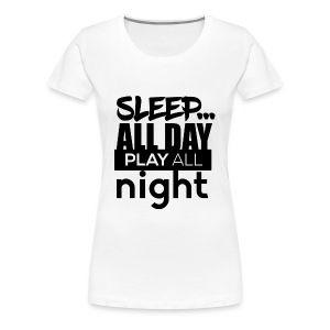 TML - Sleep All day - Women's Premium T-Shirt