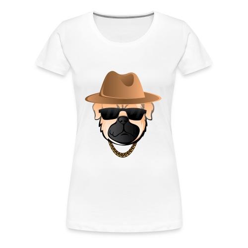 Classic Pug - Women's Premium T-Shirt