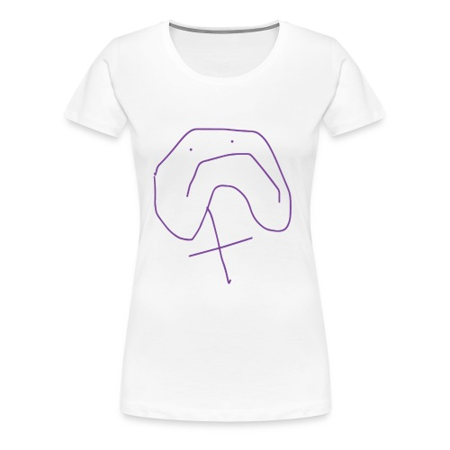 Frown - Women's Premium T-Shirt