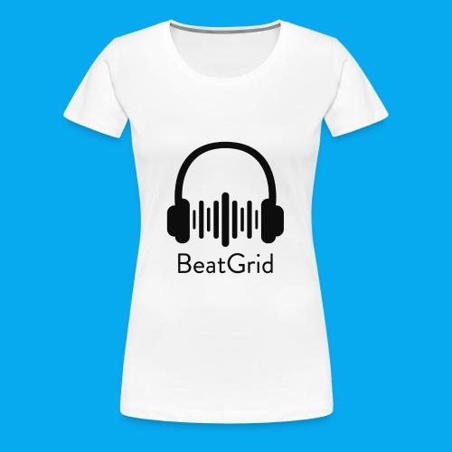 BeatGrid Classic Black Logo - Women's Premium T-Shirt
