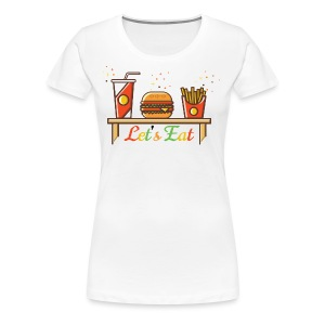 Hamburger T Shirts, Shirts & Tees - Women's Premium T-Shirt