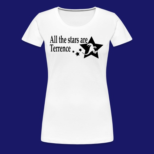 All the Stars Are Terrence - Women's Premium T-Shirt