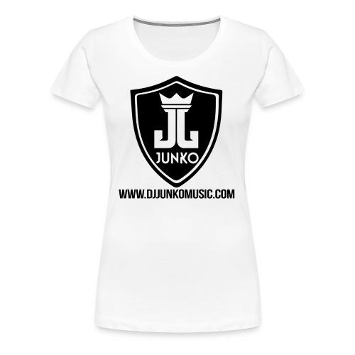 DJ Junko Music - Women's Premium T-Shirt