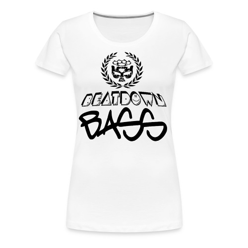 BEATDOWN BLACK LOGO - Women's Premium T-Shirt