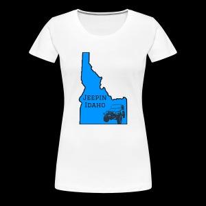 Jeepin Idaho Logo - Women's Premium T-Shirt
