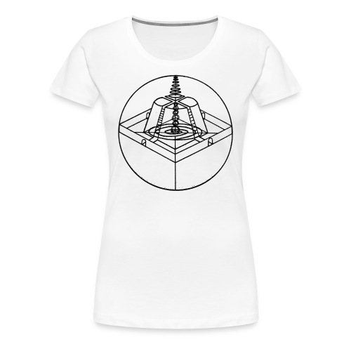 Mount Meru - Women's Premium T-Shirt