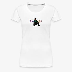 Rainbow DatBoiDJ Logo - Women's Premium T-Shirt