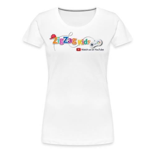 ZigZag Kids Logo Shop - Women's Premium T-Shirt