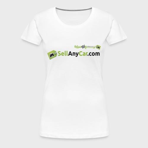 SellAnyCar.com original Logo - Women's Premium T-Shirt