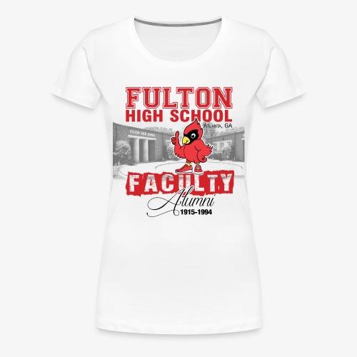 FHS Faculty Alumni _WHITE TEE ONLY - Women's Premium T-Shirt