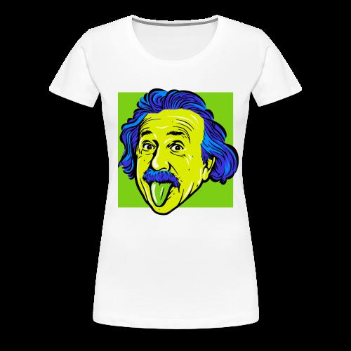 Crazy Einstein - Women's Premium T-Shirt