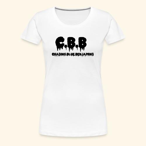 Chasing Blue Benjamins - Women's Premium T-Shirt