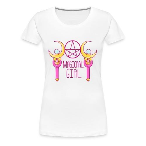Magickal Girl - Women's Premium T-Shirt