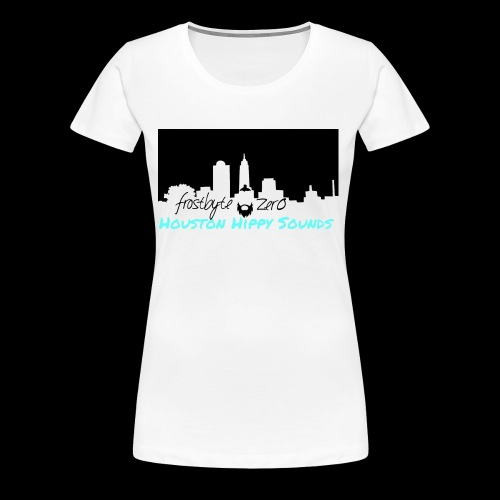Frostbyte Zer0 Houston Hippy Sounds - Women's Premium T-Shirt