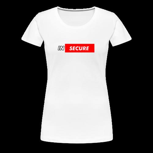 funny Insecure supreme like design - Women's Premium T-Shirt