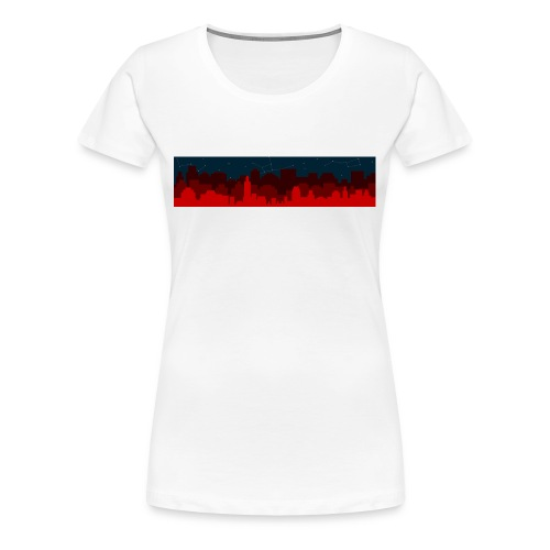 Paint the Town RED - Women's Premium T-Shirt