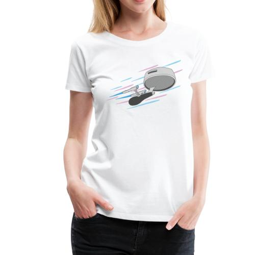 To the boundaries of coffee! - Women's Premium T-Shirt