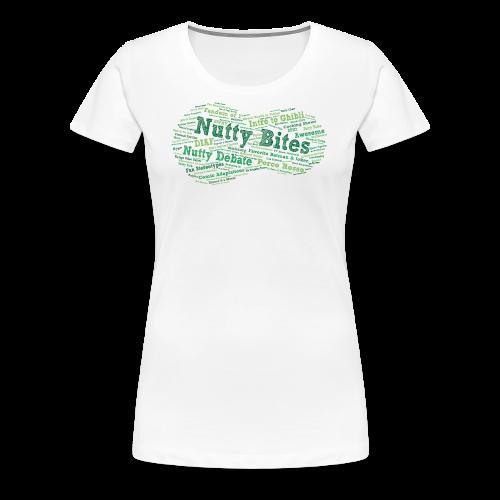Nutty Bites 100! - Women's Premium T-Shirt