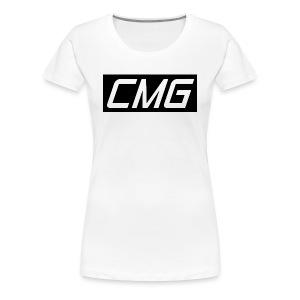 CMG Black Box Logo - Women's Premium T-Shirt