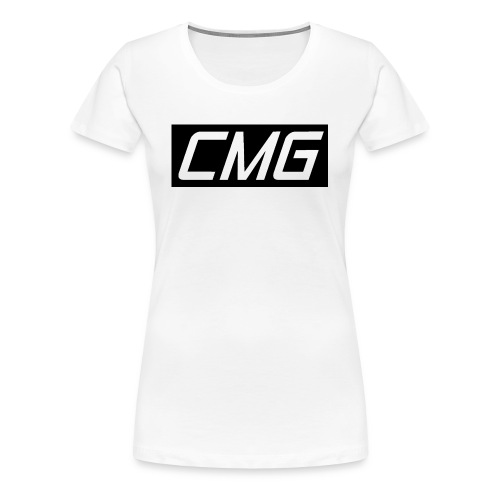 CMG Black Box Logo - Women's Premium T-Shirt