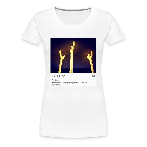 TREE LIGHT - Women's Premium T-Shirt