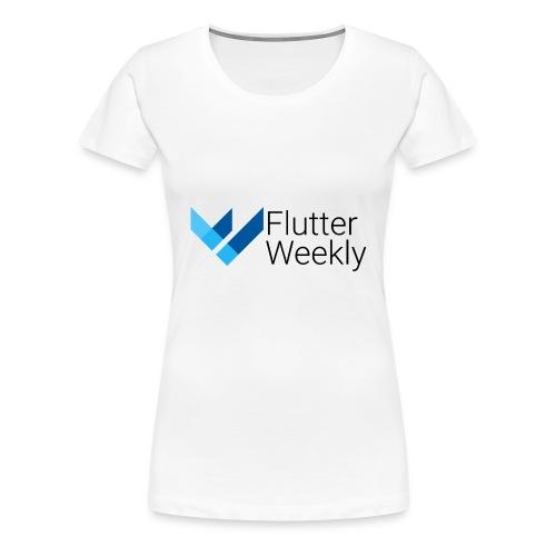 Flutter Weekly - Women's Premium T-Shirt