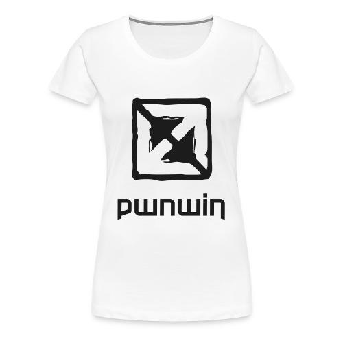 pwnwin - play eSports and win cash & prizes - Women's Premium T-Shirt