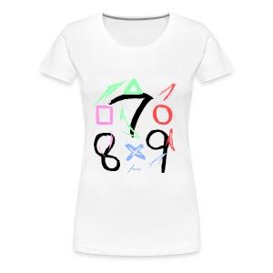 The official 789 Logo - Women's Premium T-Shirt