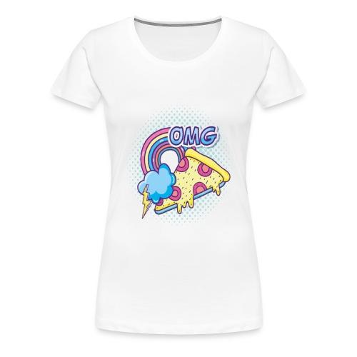 PIZAA - Women's Premium T-Shirt