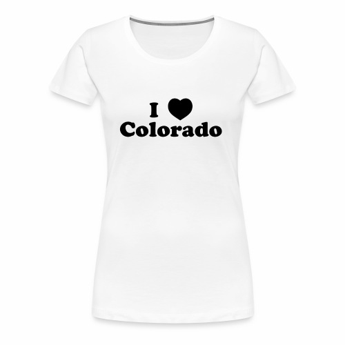 colorado heart - Women's Premium T-Shirt